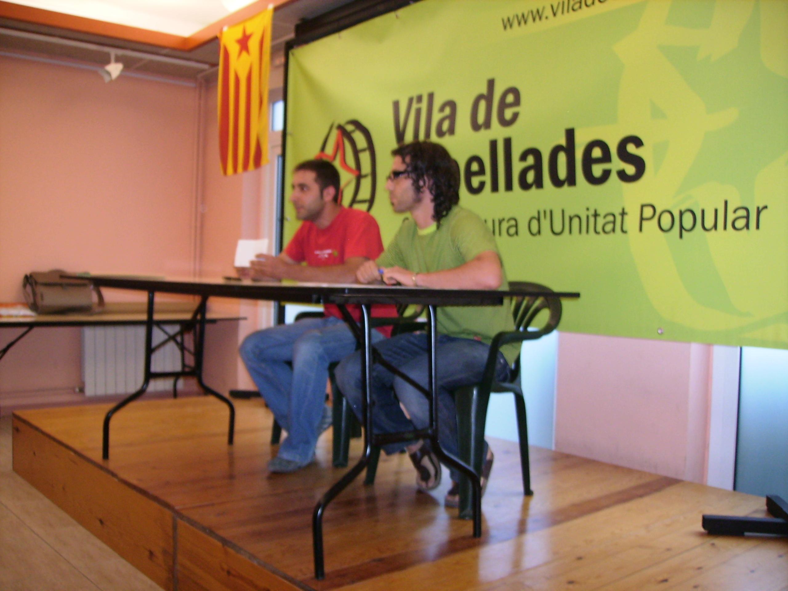 Comunicat als vilatans i vilatanes de Capellades