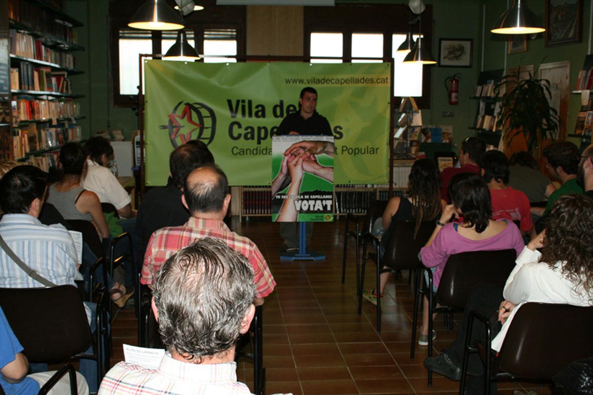 Crònica del primer acte de campanya de Vila de Capellades