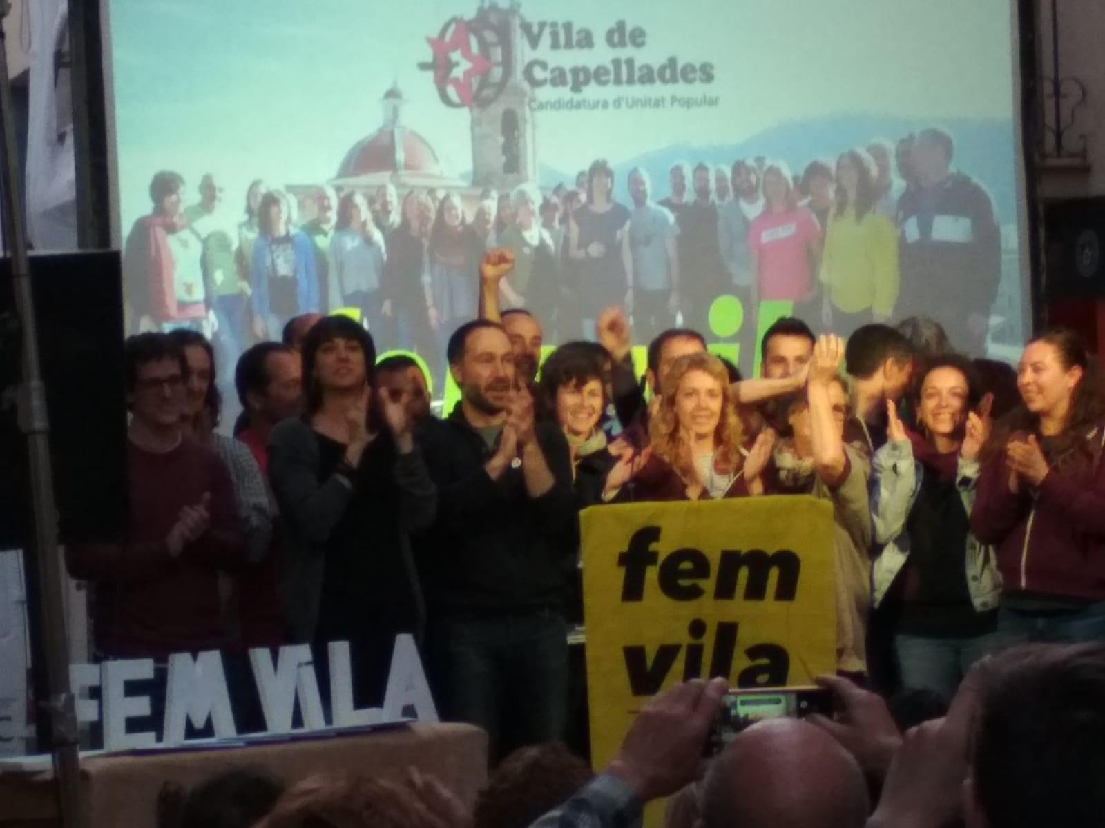 L'acte central de campanya per a les eleccions municipals 2019