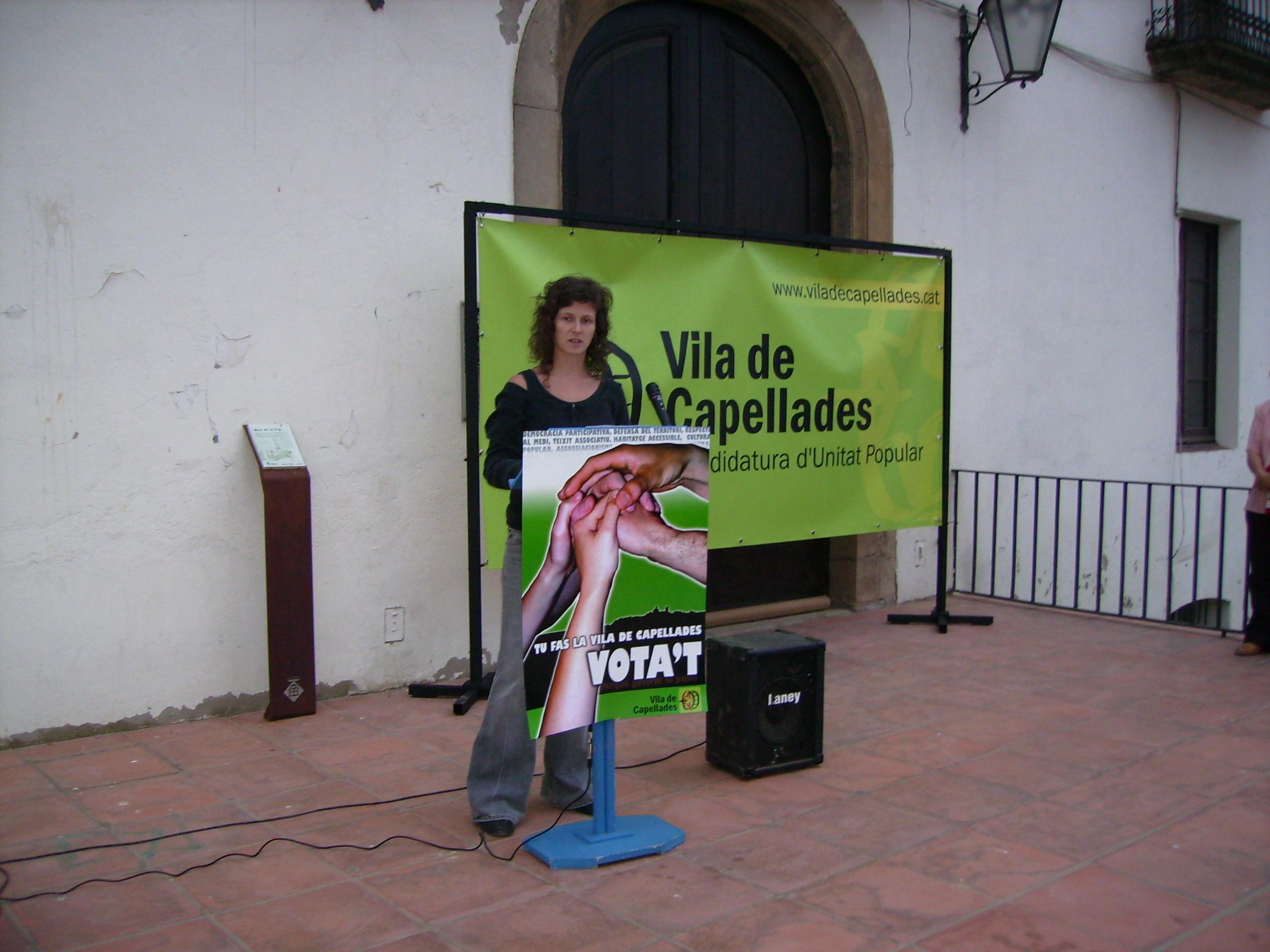 Crònica de l'acte de cloenda de Vila de Capellades
