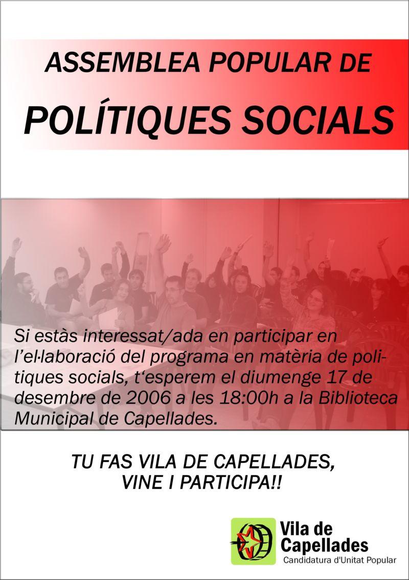 Comissió de polítiques socials