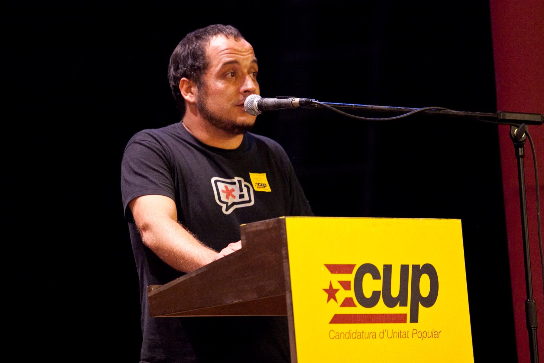 David Fernàndez: 'Som un projecte de ruptura democràtica per als Països Catalans'