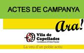Actes de campanya de VdC