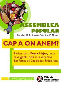 Nova Assemblea Popular de Vila de Capellades - Candidatura d'Unitat Popular