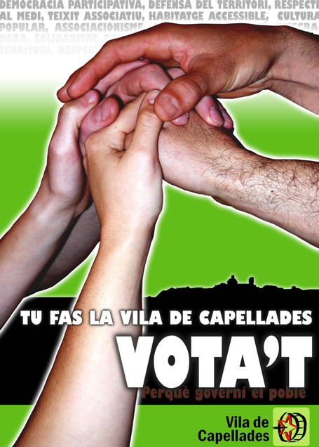 Tu fas la Vila de Capellades - VOTA'T