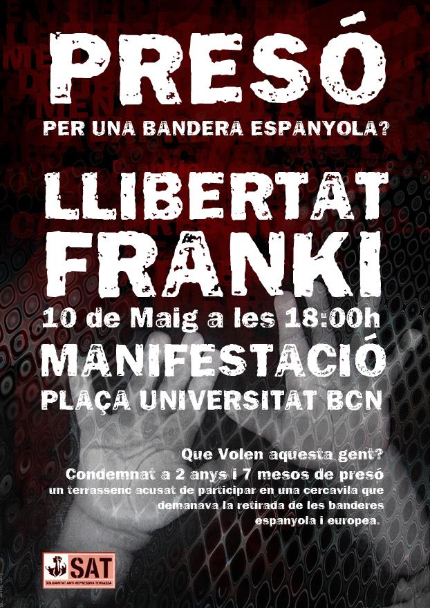 FRANKI LLIBERTAT!!