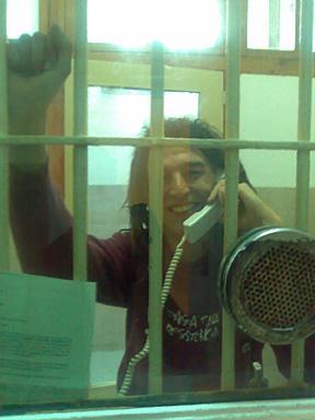 El passat dimarts 10 de juny en Franki surt en llibertat vigilada.