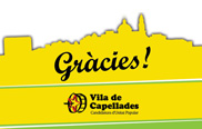 Vila de Capellades obté 523 vots essent la segona força al municipi