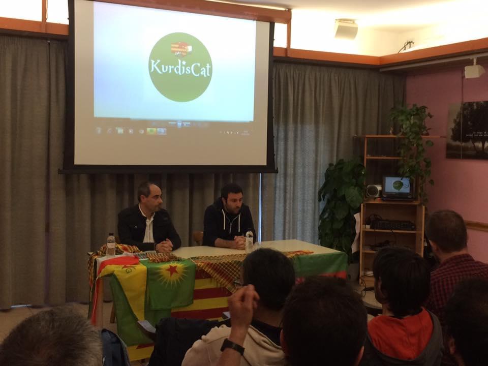 Èxit de la xerrada sobre el Kurdistan