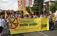 La CUP presenta al·legacions contra la Llei Òmnibus