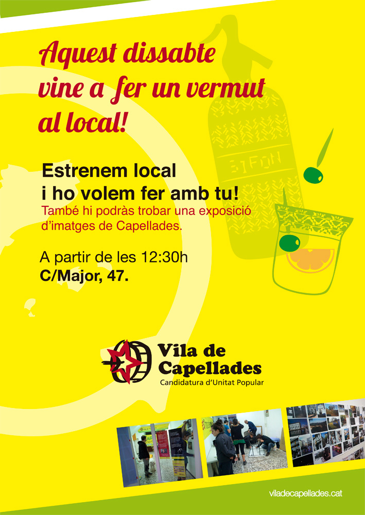 Nou local de Vila de Capellades-CUP